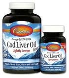 Carlson Cod Liver Oil Gems - Low Vitamin A