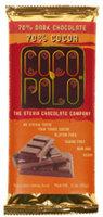 Coco Polo Sugar Free 70% Dark Cocoa Bars
