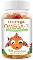Coromega Omega-3 Gummy Fruits for Kids