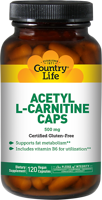 Country Life Acetyl L-Carnitine