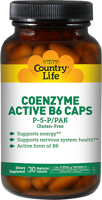 Country Life Active B-6 Caps