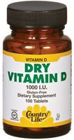 Country Life Dry Vitamin D