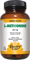 Country Life L-Methionine
