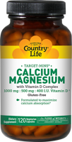 Country Life Maxi-Sorb Cal/Mag Citrate with Vitamin D