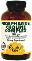 Country Life Phosphatidyl Choline Complex