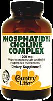 Country Life Phosphatidyl Choline Complex