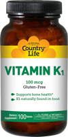 Country Life Vitamin K-1