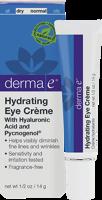 derma e Hyaluronic & Pycnogenol Eye Creme