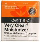 derma e Very Clear - Problem Skin Moisturizer