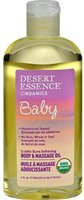 Desert Essence Organics Baby Body & Massage Oil
