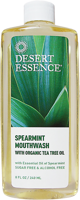 Desert Essence Tea Tree Oil Mouthwash (Sugar & Alcohol Free)
