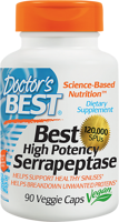 Doctor's Best Best High Potency Serrapeptase