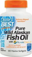Doctor's Best Pure Wild Alaskan Fish Oil
