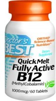 Doctor's Best QuickMelt Fully Active B12