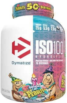 Dymatize ISO 100 The Top Rated Pure Whey Protein Isolate