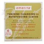Emerita Feminine Cleansing and Moisturizing Cloths