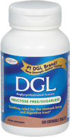 Enzymatic Therapy DGL- Fructose Free/Sugarless