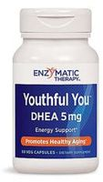 Enzymatic Therapy Youthful You DHEA