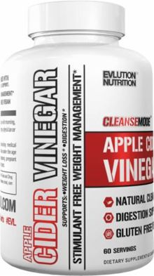 EVLution Nutrition CleanseMode Apple Cider Vinegar