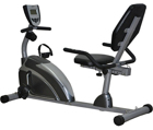 Exerpeutic 900XL Extended Capacity Magnetic Recumbent Bike with Pulse