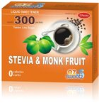 EZ-Sweetz Liquid Sweetener, Stevia & Monk Fruit