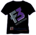 F3 Nutrition F3 Logo T-Shirt Black
