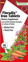 Flora Floradix Iron Tablets