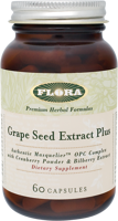 Flora Grape Seed Extract Plus