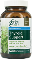 Gaia Herbs System Support - Thyroid Support