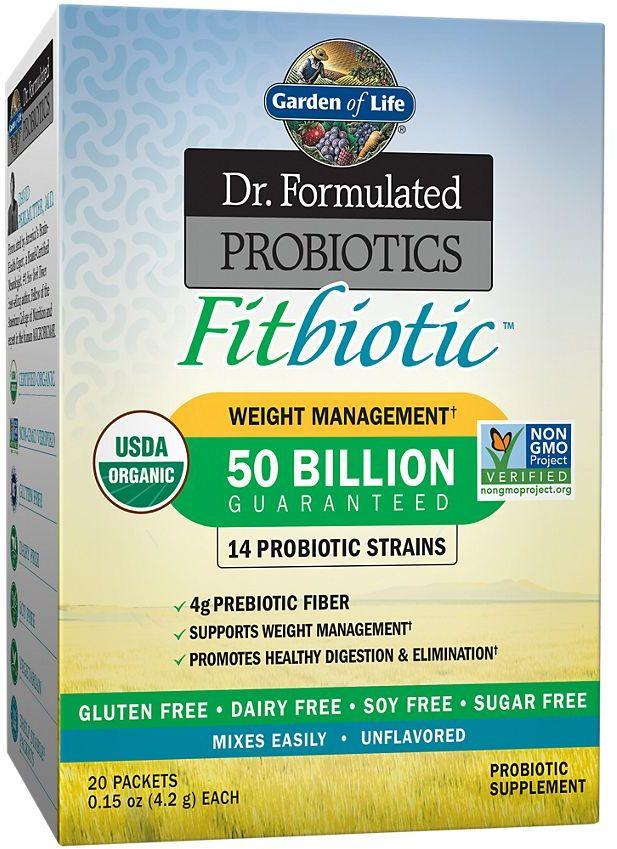Garden Of Life Dr Formulated Probiotics Fitbiotic