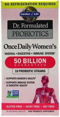 Garden of life dr formulated probiotics once daily women 39 s - Garden of life once daily women s probiotic ...