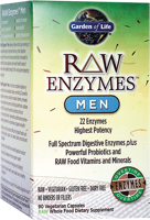 Garden of Life Raw Enzymes - Men