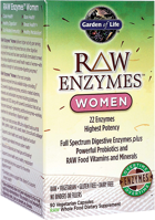Garden of Life Raw Enzymes - Women