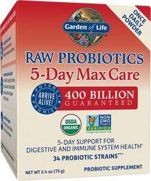 Garden Of Life Raw Probiotics 5 Day Max Care Priceplow