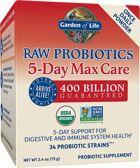 Garden of Life Raw Probiotics - 5-Day Max Care