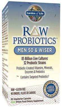 Garden of life raw probiotics men 50 wiser priceplow - Garden of life raw probiotics men ...