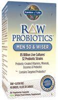 Garden of Life Raw Probiotics - Men 50 & Wiser
