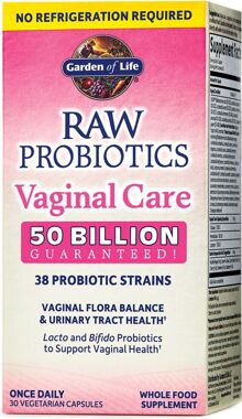 Garden Of Life Raw Probiotics Vaginal Care Priceplow