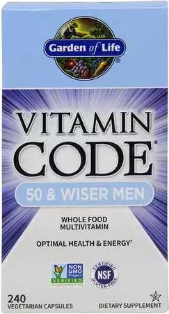 Garden Of Life Vitamin Code 50 Wiser Men Priceplow
