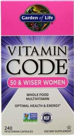 Garden Of Life Vitamin Code 50 Wiser Women Priceplow