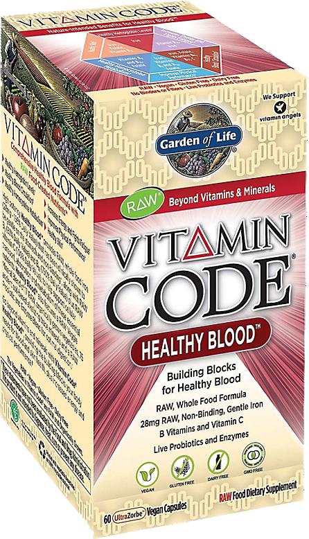 Garden Of Life Vitamin Code Healthy Blood Priceplow