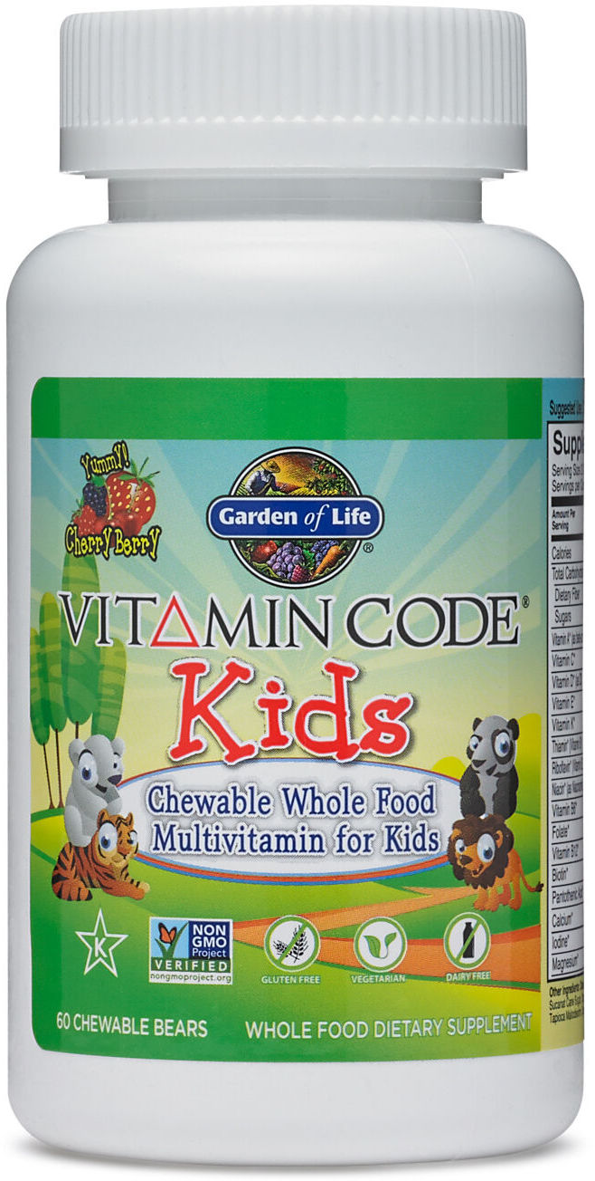Vitamins for kids learn compare products at priceplow - Garden of life vitamin code kids ...