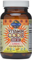 Garden of Life Vitamin Code - Raw D3