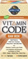 Garden of Life Vitamin Code - Raw Iron