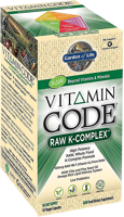 Garden of Life Vitamin Code - Raw K-Complex