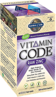 Garden of Life Vitamin Code - Raw Zinc