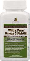Genceutic Naturals Wild & Pure Fish Oil