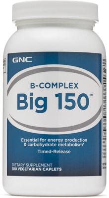 Gnc Bcomplex Big 150 Vegetarian Caplets 4