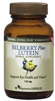 GNC Bilberry Plus Lutein
