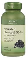 GNC Herbal Plus Activated Charcoal